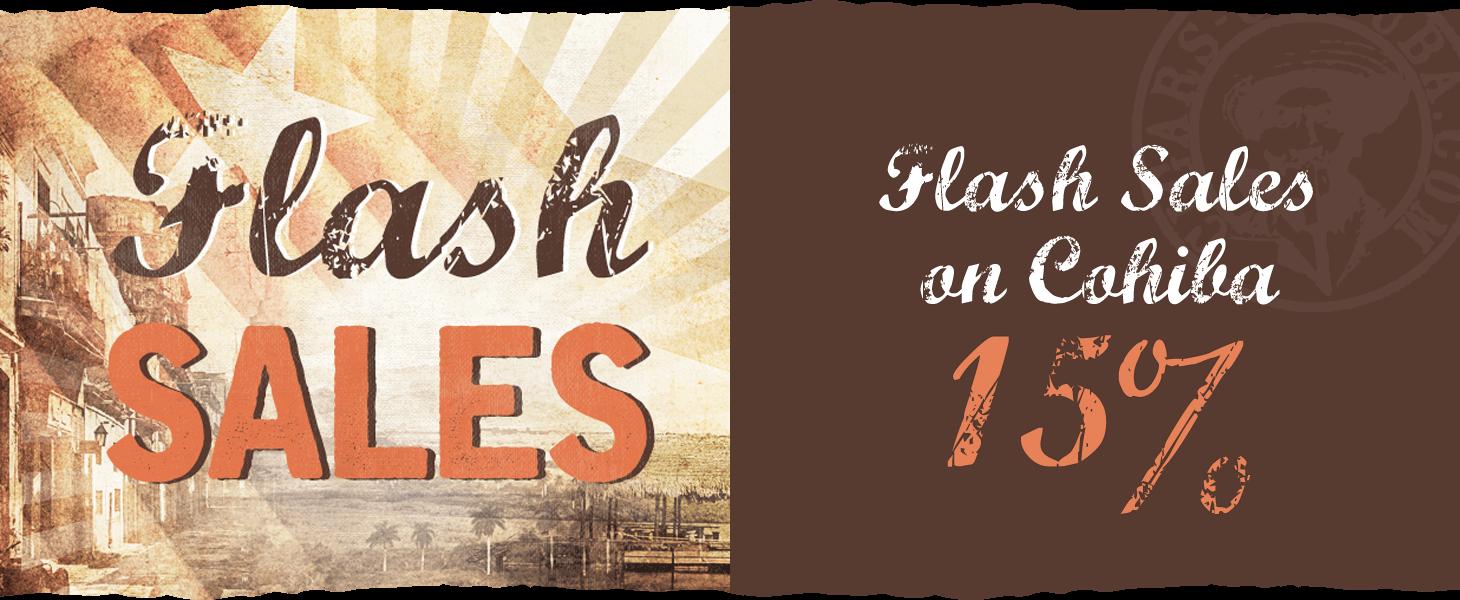 Flash Sales on Cohiba