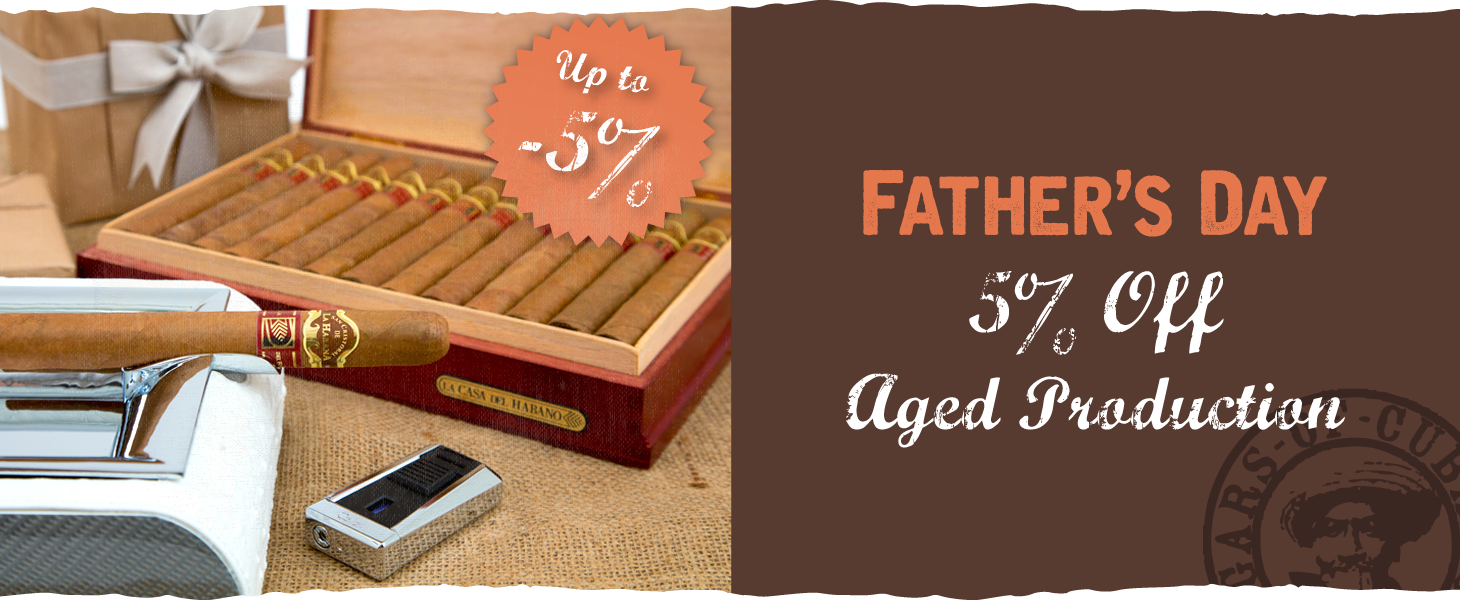 Father's Day – 5% off Aged Production