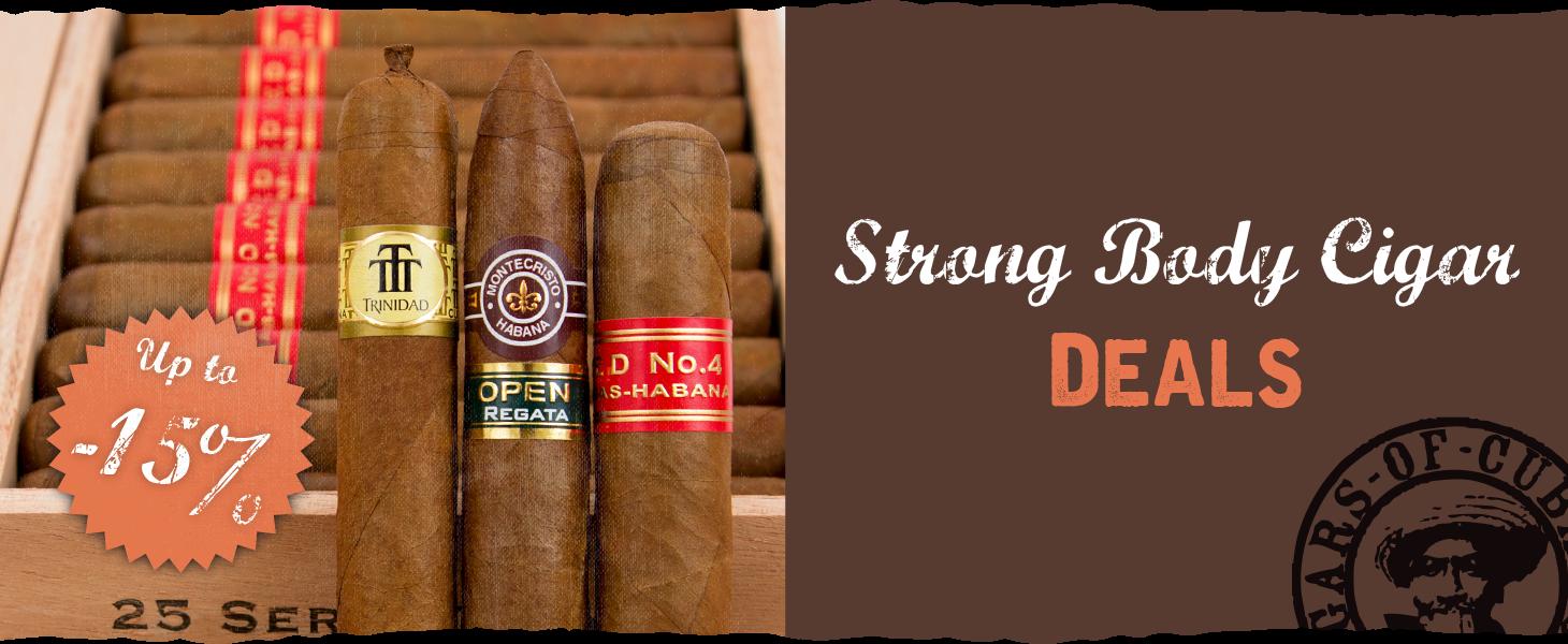 Strong Body Cigar Deals