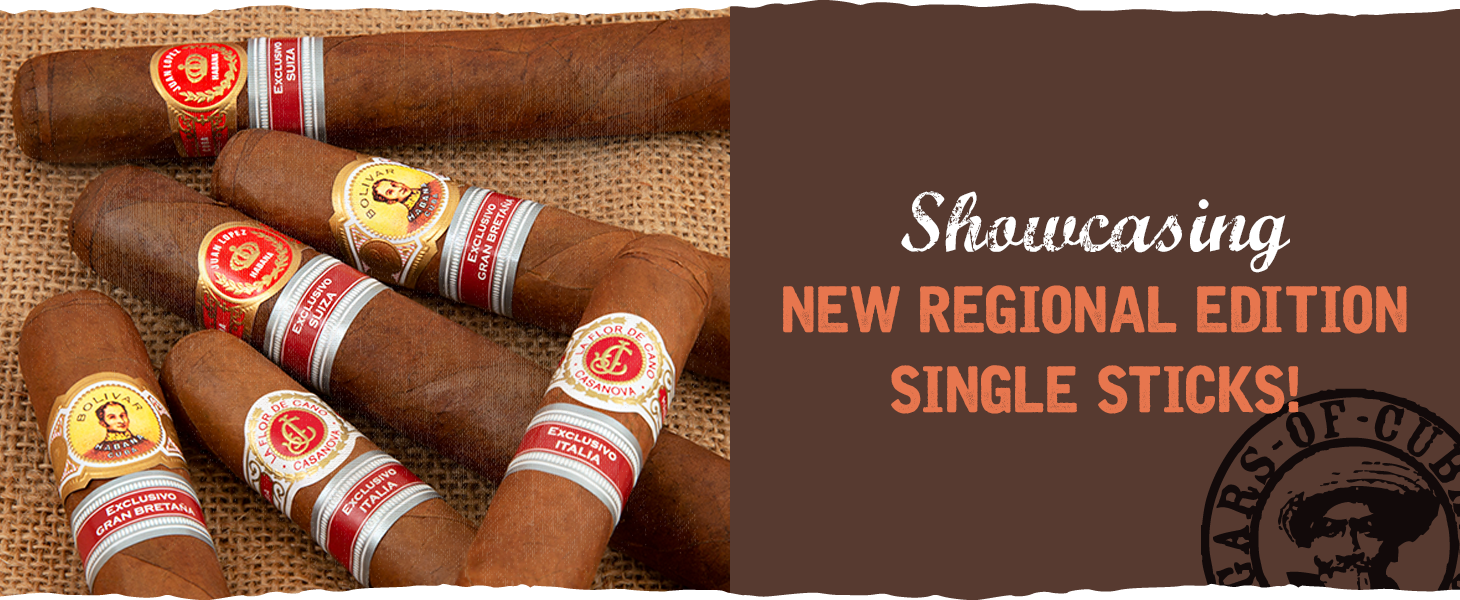 New Reginal Edition Single Sticks