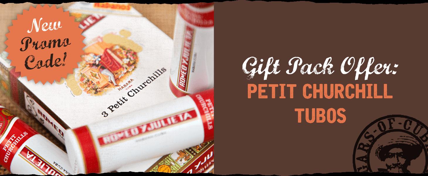 Gift Pack Offer: Petit Churchill Tubos