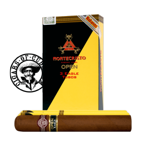Montecristo Open Eagle Tubos Pack of 3 - Habanos Regular Productions ...