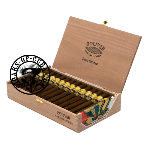 Bolivar Super Coronas Edicion 2014 Box of 25