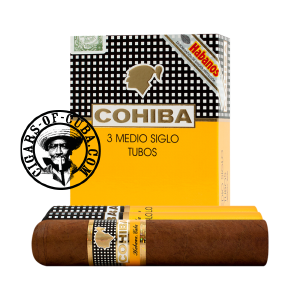 Cohiba Medio Siglo Tubos Box of 3