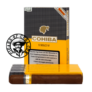 Cohiba Siglo IV Pack of 5