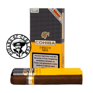 Cohiba Siglo IV Tubos Pack of 3