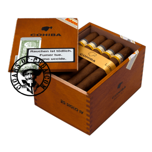 Cohiba Siglo IV Box of 25