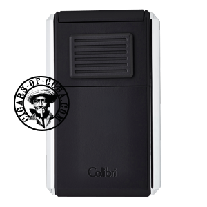 Colibri Lighter Astoria III Black & Chrome - 80723 Piece