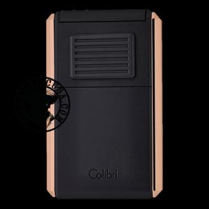 Colibri Lighter Astoria III Black & Rose Gold - 80732 Piece
