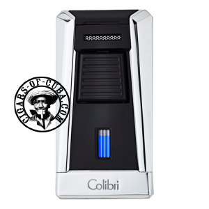 Colibri Lighter Stealth I - Polished Chrome & Black - 95045 Box