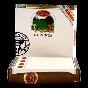 Cuaba Divinos Pack of 5