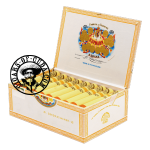 H.Upmann Coronas Minor Tubos Box of 25