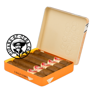 H.Upmann Half Corona Tin Of 5 Box of 5