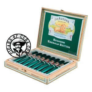 La Aurora 1903 Preferidos - Emerald Vert Box of 8
