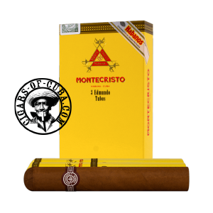 Montecristo Edmundo Tubos Pack of 3