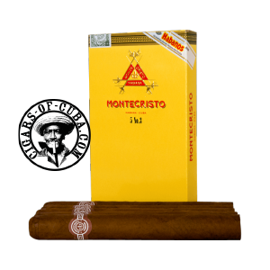 Montecristo No. 3 Pack de 5