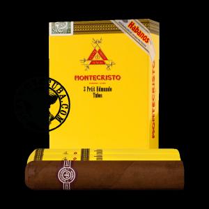 Montecristo Petit Edmundo Tubos Pack of 3