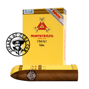Montecristo Petit No. 2  Tubos Pack de 3