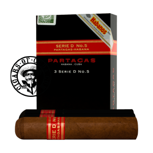 Partagas Serie D No.5 Tubos Pack of 3