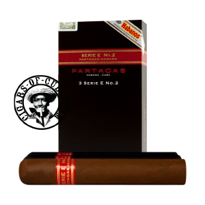 Partagas Serie E No.2 Tubos Box of 3