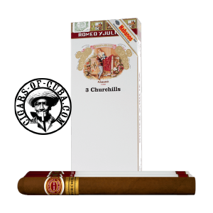 Romeo y Julieta Churchills Tubos Pack of 3