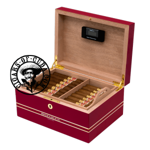 Romeo y Julieta Global Brand Wooden Humidor 2 + 21 Wide Churchills + 24 Petit Churchills Box of 45