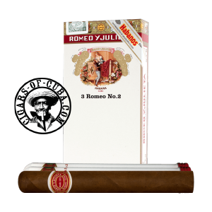 Romeo y Julieta No.2 Tubos Pack of 3