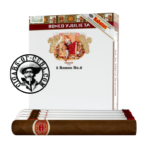 Romeo y Julieta No.2 Tubos Pack of 5