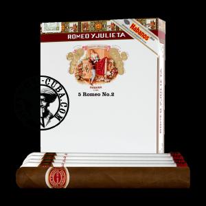 Romeo y Julieta No.3 Tubos Pack de 3
