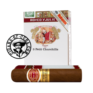 Romeo y Julieta Petit Churchills Tubos Pack of 3