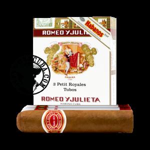 Romeo y Julieta Petit Royales Pack de 3