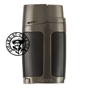XIKAR Elx - Double Lighter - Black&Gunmetal Box