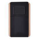 Colibri Lighter Astoria III Black & Rose Gold - 80732 Piece
