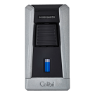Colibri Lighter Stealth I - Mat Silver & Black - 95042 Box