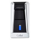Colibri Lighter Stealth I - Polished Chrome & Black - 95045 Box