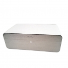 Gentili Humidor - Fiber Glass & Leather Ostrich Style - Limited Edition - Sv150 - White Box