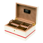 Hoyo De Monterrey Global Brand Wooden Humidor + 25 Epicure No.2 + 25 Petit Robustos Box of 36