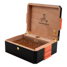 Montecristo 80 Aniversario Humidor Black Box of 30