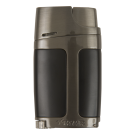 XIKAR Elx - Double Lighter - Black&gunmetal Boite